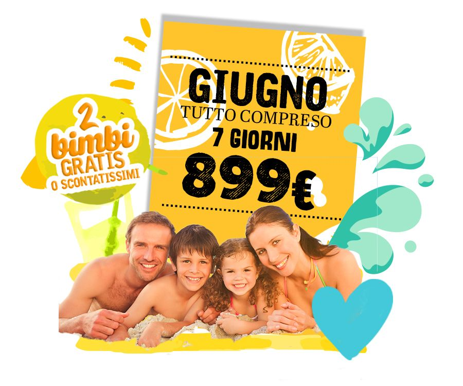 Offerta Incredibile GIUGNO ALL INCLUSIVE